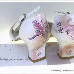 Braut Schuhe Hochzeits Hochzeit Schuh Handbemalt Vom Eigenen Tattoo