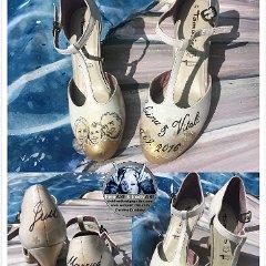 Star Wars Darth Vader Bambi Disney Schuhbemalungen Brautschuhe