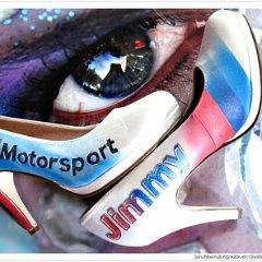 Braut Hochzeit Schuhe Auto Kfz Motiv Hochzeitsschuhe Individuell